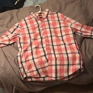 JCrew Slim Jaspe Button down shirt XL